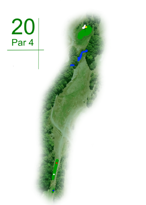 Keperra Country Golf Club - Hole 20
