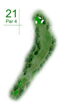 Keperra Country Golf Club - Hole 21