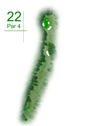 Keperra Country Golf Club - HOle 22