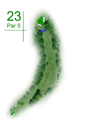 Keperra Country Golf Club - Hole 23