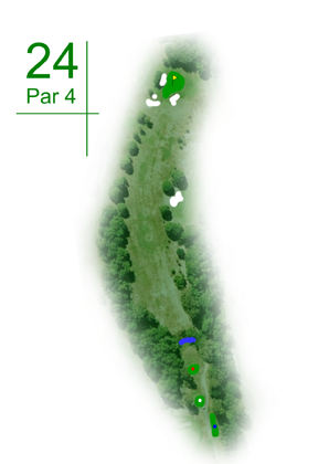 Keperra Country Golf Club - Hole 24